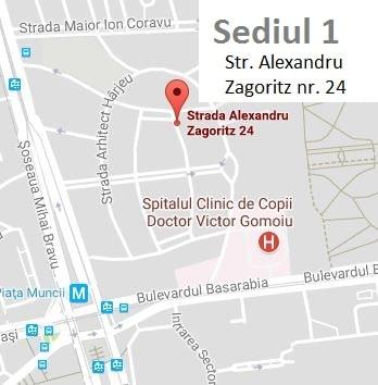 Bravissimo Art School, Sediul 1 - Str. Alexandru Zagoritz, Bucuresti Sector 2